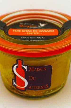 Foie gras au Sauternes – 60g