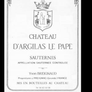 Château d'Argilas le Pape